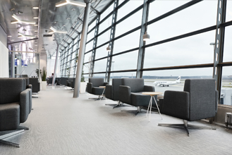 Finnair Schengen Lounge, Finland - Tile
